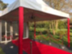 4m x 4m Oriental Marquee | Dallas Event Services