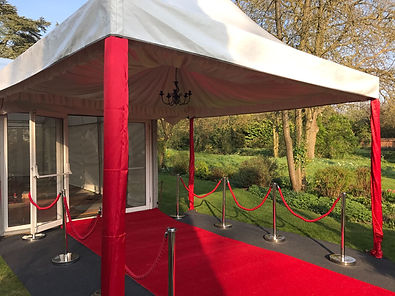 4m x 4m Oriental Marquee | Dallas Event Services