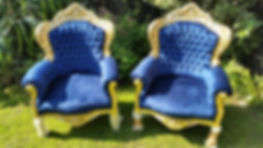 Two Throne Chair | Dallas Event Services