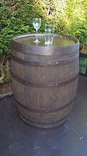 Wooden Oak Barrel Hire | Dallas Event Services