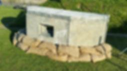 Look a Like Concrete Bunker | Dallas Event Services