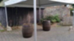 Wooden Oak Barrels | Dallas Event Services