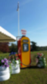 Look A Like Petrol Pump | Dallas Event Services