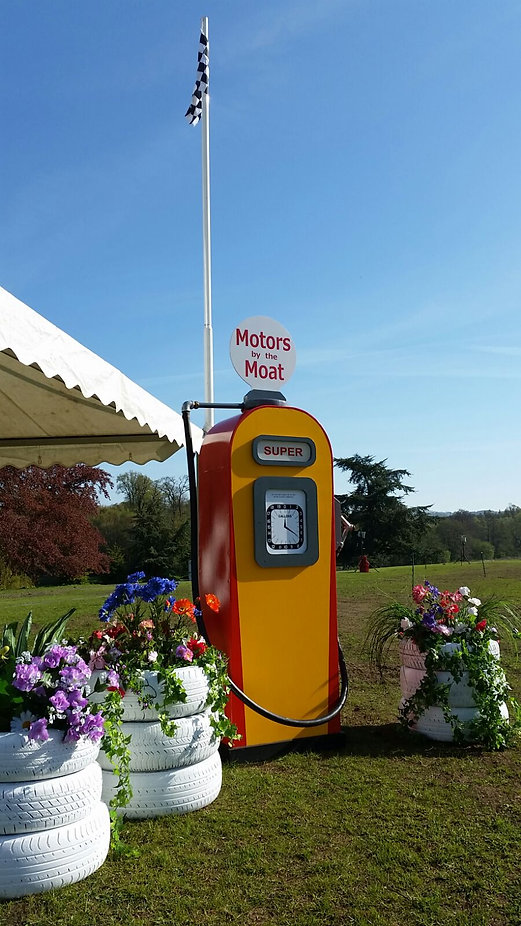 Look A Like Petrol Pump | Dallas Event Services