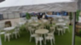White Bistro Chairs & Tables | Dallas Event Services