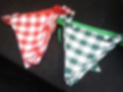 Gingham Bunting | Dallas Event Services