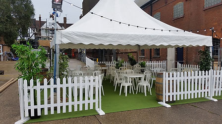 6m x 6m Marquee | Dallas Event Services