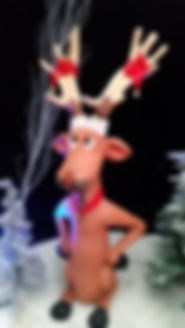 Comedy Reindeer | Dallas Event Services