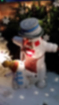 Life Size Snowman | Dallas Event Services