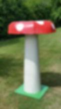 Large Mushroom Prop | Dallas Event Services