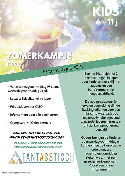 Zomerkampje KIDS - Made with PosterMyWal