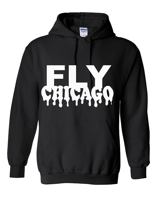 FLYCHICAGO  (Dripping) PULLOVER