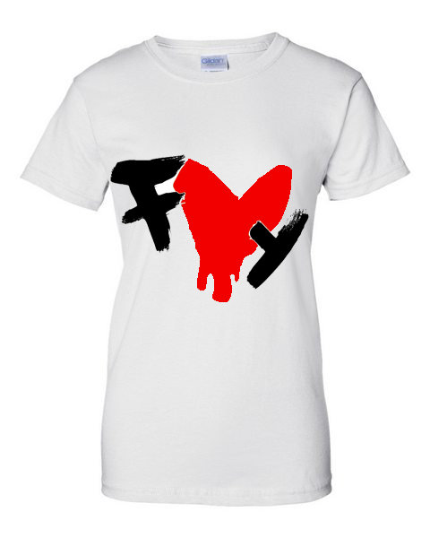 FLYCHICAGO(Dripping Heart) Tee