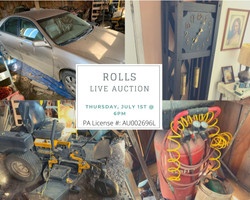 Rolls Live Auction