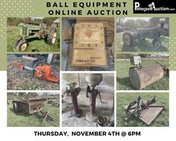 Ball Equipment Online Auction