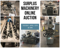 Surplus Machinery Online Auction