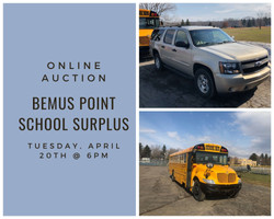 Bemus Point School Surplus