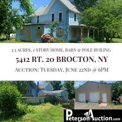 Brocton Real Estate Auction