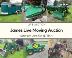 James Live Auction