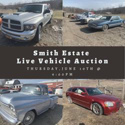 Smith Estate Live Vehicle Auction