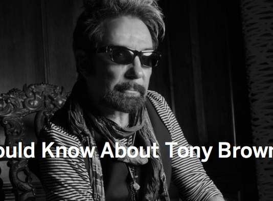 MYSPACE BREAKS NEW STORY ABOUT TONY BROWN