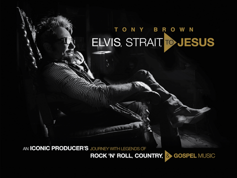 EXCLUSIVE: Tony Brown Talks New Book 'Elvis, Strait, to Jesus'