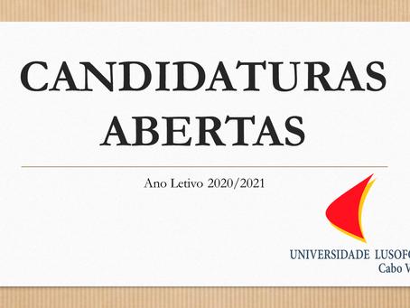Candidaturas 2020-2021