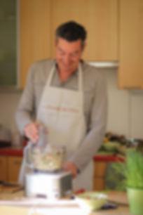 La préparation culinaire avance pour ce participant