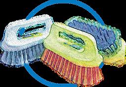 cepillo plancha dibujo