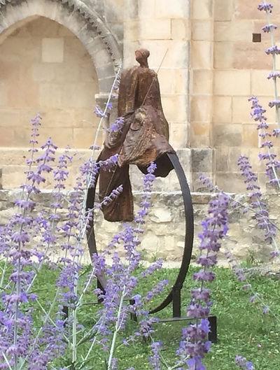 L'Immuable - Sculpture bronze - Cadeau bronze - art – luxe – Galerie – Pontrieux - Zina-o - zen -méditation - asie - japon -bouddiste -