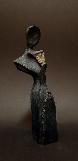 Sculpture bronze - Cadeau bronze - art – luxe – Galerie – Pontrieux - Zina-o - Dédale - Mythologie - femme - abstrait - contemporain -