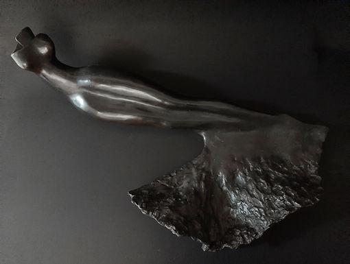 Sculpture bronze - Cadeau bronze - art – luxe – Galerie – Pontrieux - Zina-o - mer - océan - sirène - allégorie - femme - art déco -