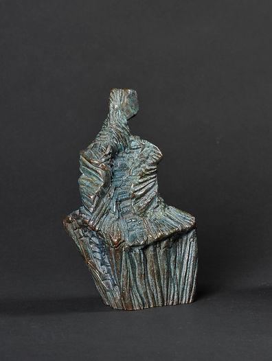 Sculpture bronze - Cadeau bronze - art – luxe – Galerie – Pontrieux - Zina-o - Esprit de femme - femme - sculpture abstraite - sculpture contemporaine