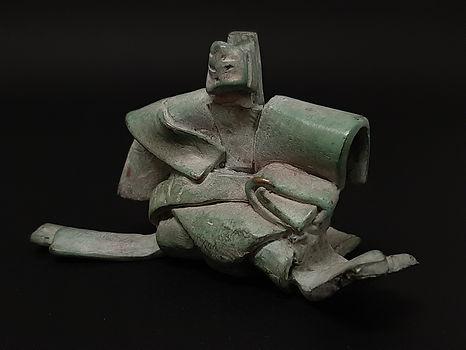 Monde Flottant III N°4/8 - Sculpture bronze - Cadeau bronze - art – luxe – Galerie – Pontrieux - Zina-o - Asie - japon - art martiaux - zen - méditation - presse papier - sculpure contemporaine - sculpture abstraite -