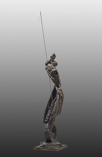 Sculpture bronze - Cadeau bronze - art – luxe – Galerie – Pontrieux - Zina-o - Giacometti -