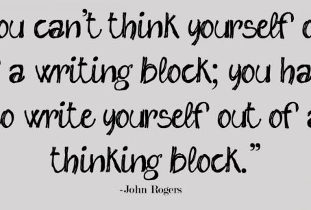 6 Tips for Getting Over Writer's Block by Natasja Eby