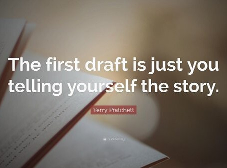 In The Praise Of The Ugly Draft by Keira Dominguez