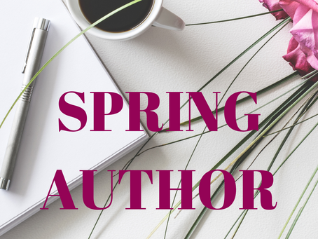 Be a Featured Author in April!