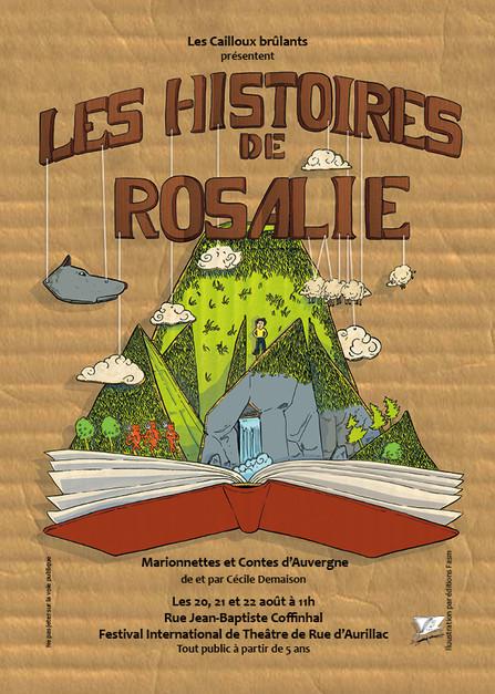 Au Festival International de Théâtre de Rue d'Aurillac : Les Histoires de Rosalie !