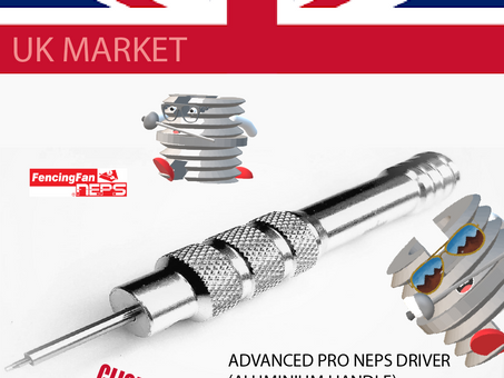 ONLY UK  MARKET: Get  your  FENCINGFAN NEPS PRO DRIVER !  MAIL CUPON CODE: UKVATFREE ends on 22 Oct.