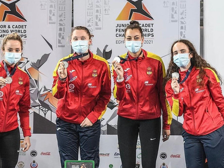 ¡Los NEPS siguen al equipo  Junior Femenino de Espada de España en El Cairo hasta la Plata!
