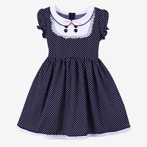 Платье с манишкой