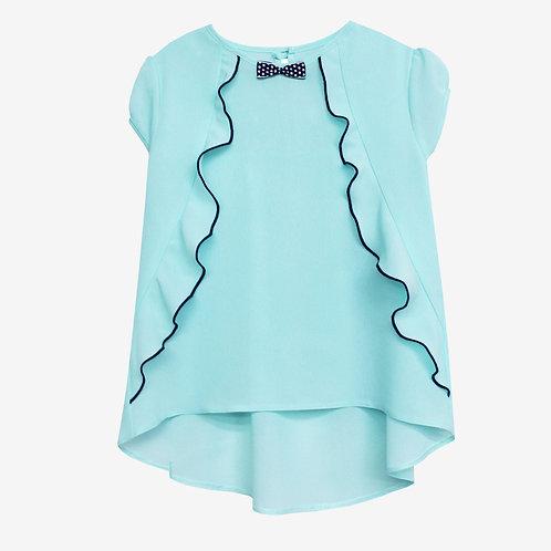 Блузка с рюшками
