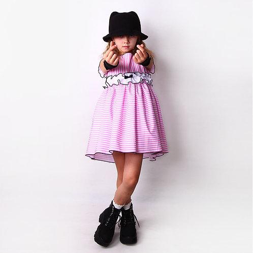 """Платье """"Ретро"""" розовое"""