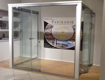 Showroom cliente Vetrate Panoramik