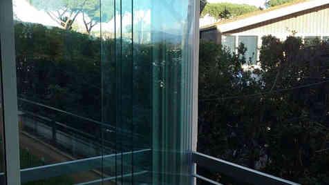 Impacchettamento vetrate scorrevoli UP