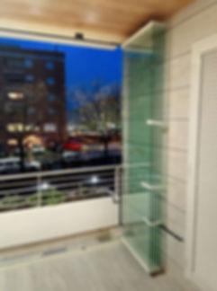 Vetro temperato 10mm per vetrate panoramiche