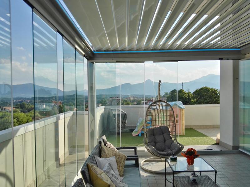 Coprire Terrazzo Con Veranda vetrate scorrevoli panoramik | italia | tutto su panoramik