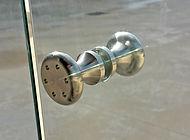 Pomello in acciaio inox per vetrate panoramiche