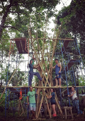BambooU: Building the Tower Nest